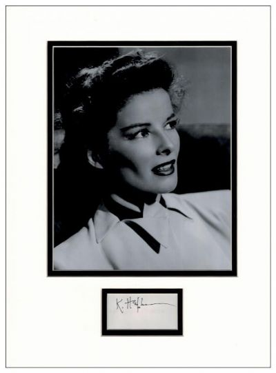 Katharine Hepburn Autograph Signed For Sale